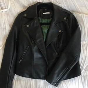 BDG Urban Outfitters Black Faux Leather Jacket